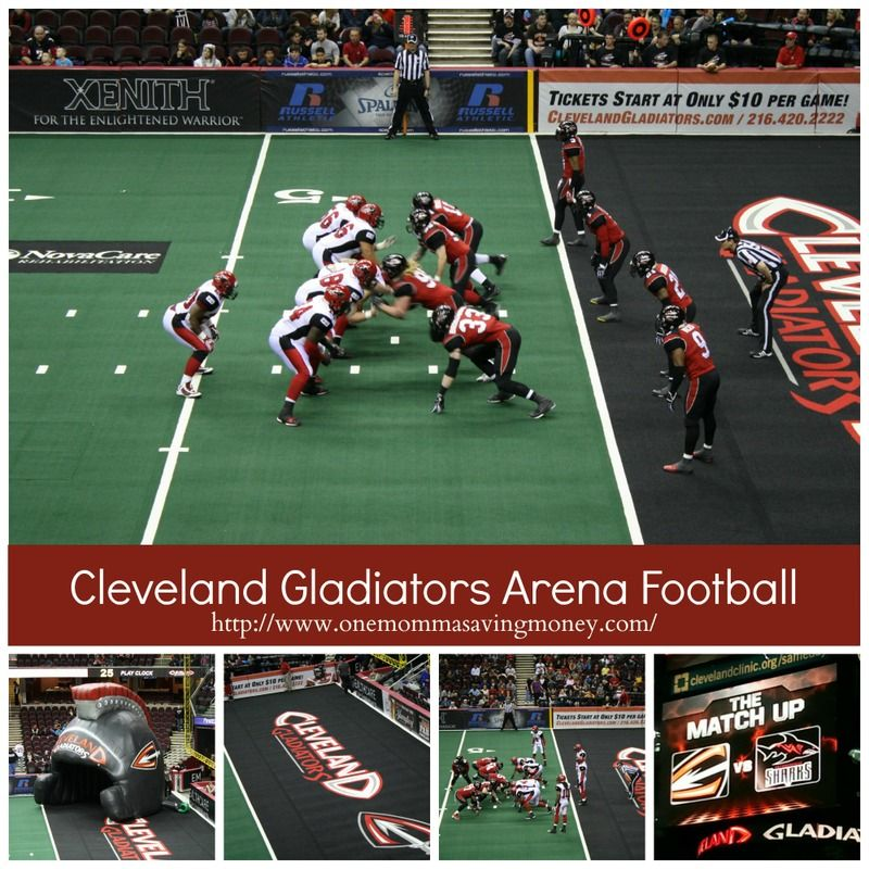 Win tickets to a CLEGladiators Arena Football game Ohio