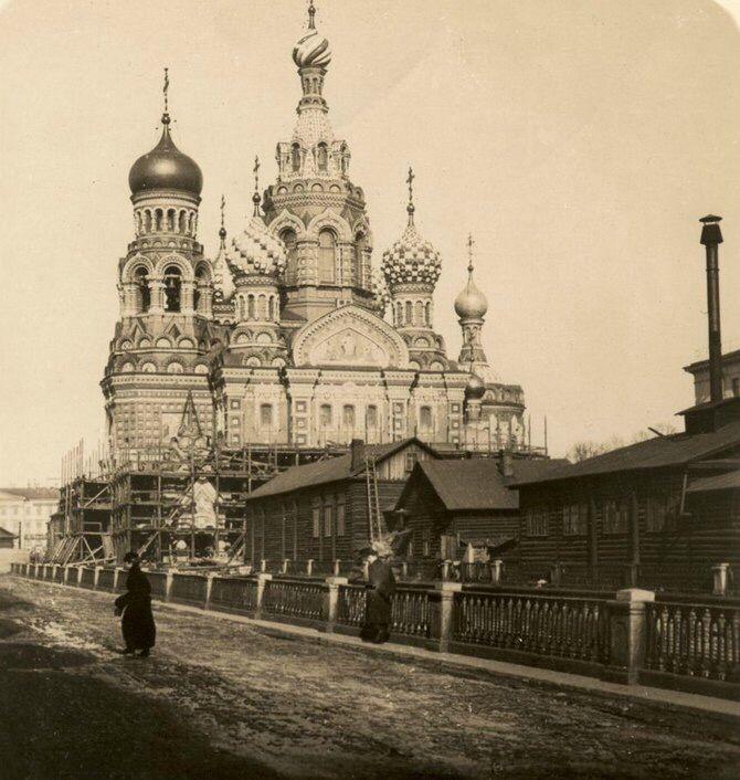 Спас -на-Крови (с изображениями) | Старые фото, Санкт ...