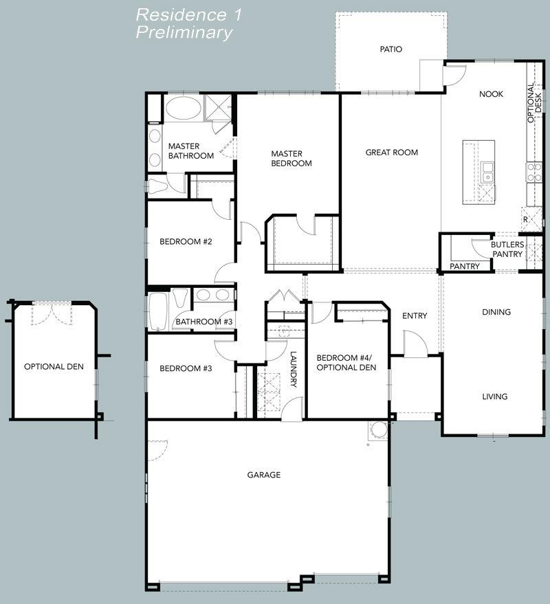 DR Horton Diamond Ridge Floor Plan