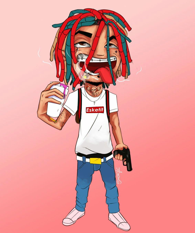 Litttttt Quinto Escalon Lil Pump Dope Art Y Dope Wallpapers