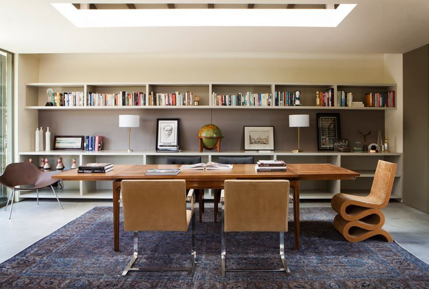 10 Rooms With Overdyed Rugs Office Rugcontemporary Home