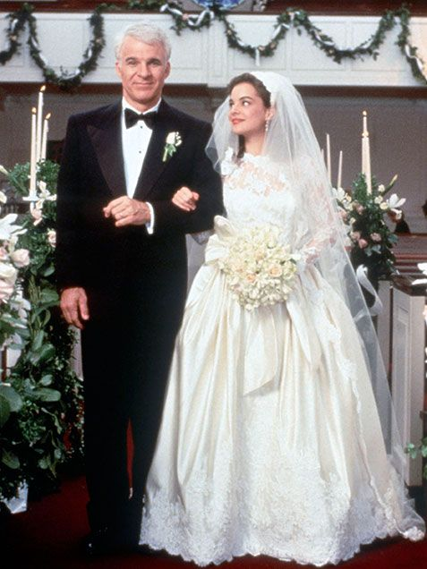 The 15 Best Movie Wedding Dresses Father Of Bride My All