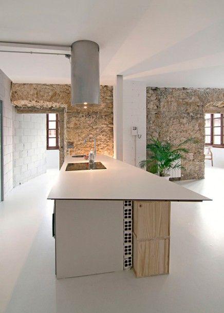 Stoere budget loft slaapkamer | Pinterest | Wände, Wohnzimmer und Küche