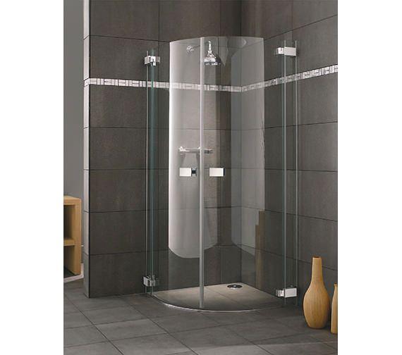 Lakes Italia Siena Hinged Door Shower Quadrant 900 X 900mm Quadrant Shower Enclosures Wet Room Shower Shower Remodel