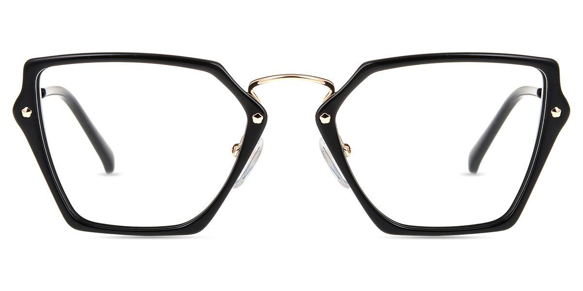 Women\'s full frame mixed material eyeglasses   Eyeglass stores ...