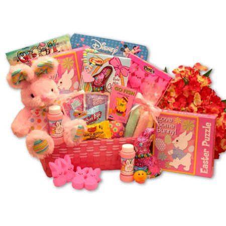 Gift basket drop shipping little cottontails pink easter activity gift basket drop shipping little cottontails pink easter activity basket walmart negle Choice Image
