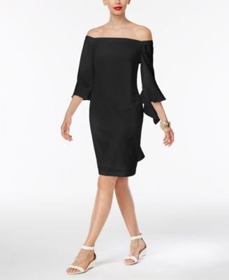 Thalia Sodi Off-The-Shoulder Sheath Dress, Only at Macy's | macys.com