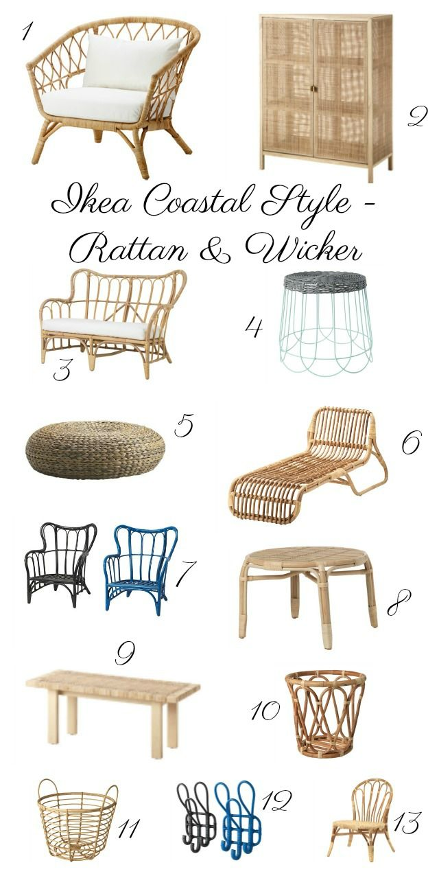 Charming Best Of Ikea Rattan And Wicker. Bring A Casual, Eclectic, Beachy Vibe To  Your Home And Garden With This Natural Element. Chairs, Benches, Tables And  Poufs. ...