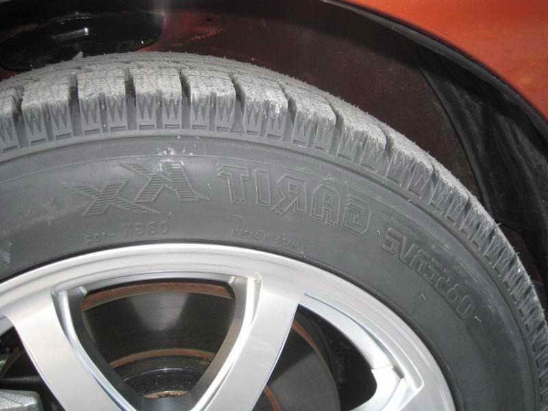 2005 Honda Accord Tire Size