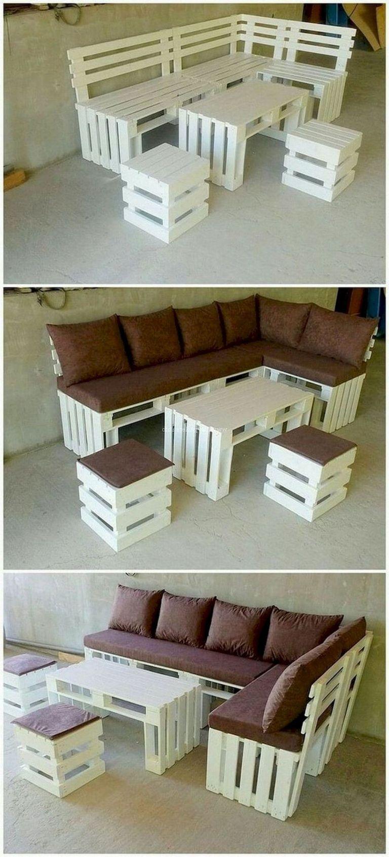 30 Creative Diy Wooden Pallet Projects Ideas 12 Mobilier D