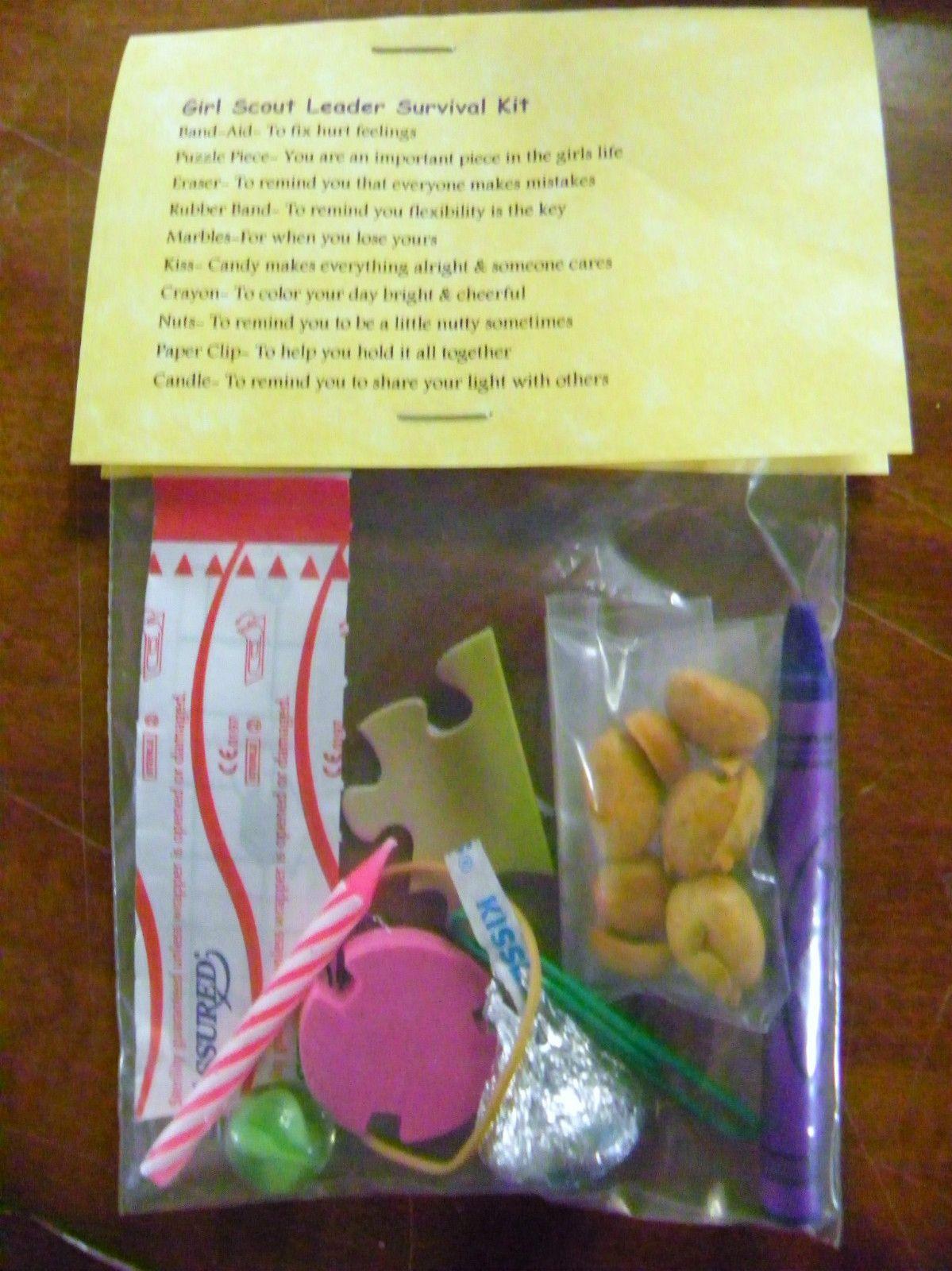 Girl Scout Leader Survival Kit 10 Items Inside Novelty
