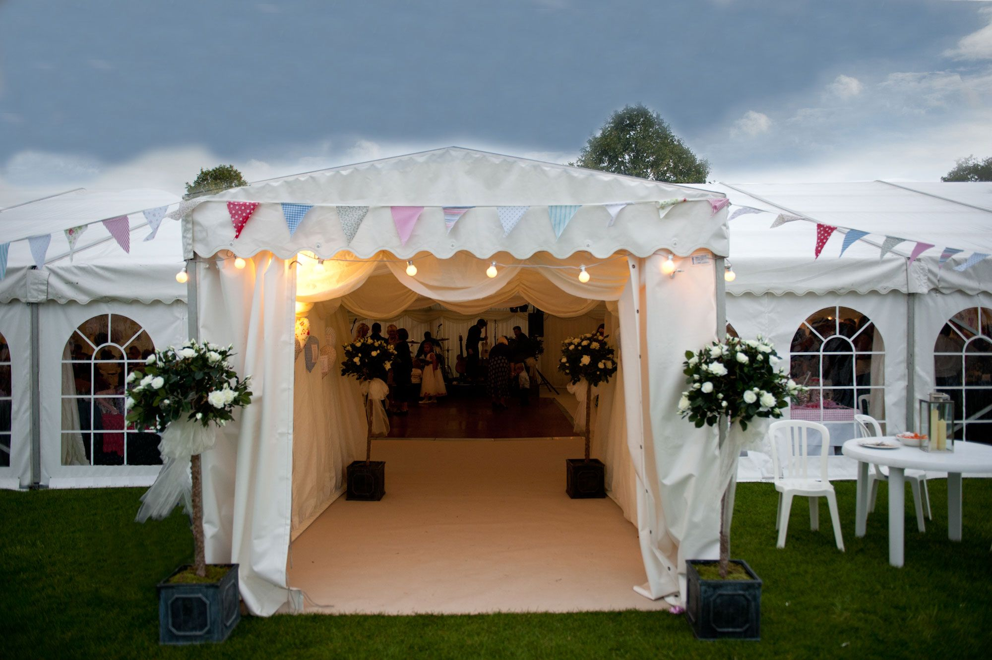 This Private And Exclusive Use Marquee Wedding Venue Is