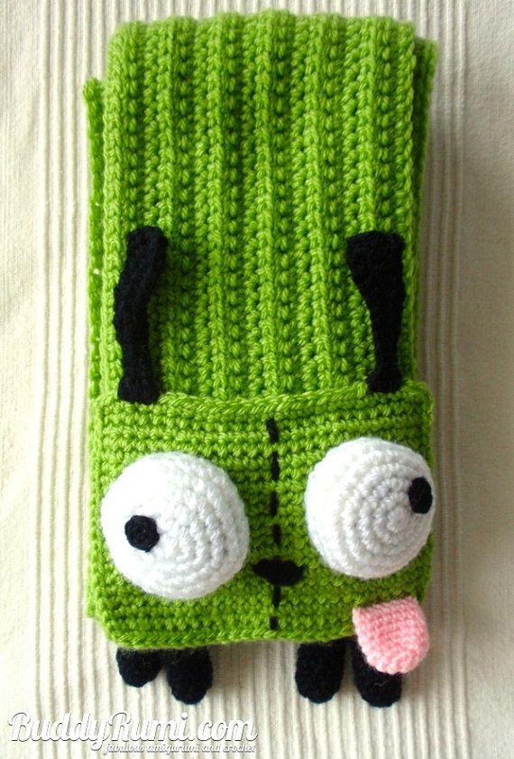 Pattern Gir Crochet Scarf Pattern Winter Accessory Pinterest