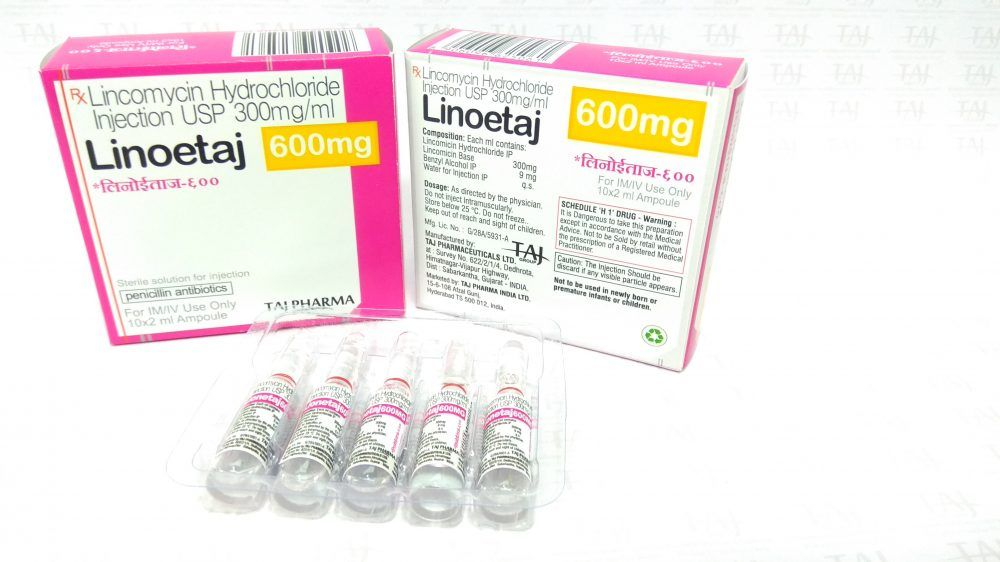 Lincomycin Solution for injection 600 mg/2 mL – Lincotaj
