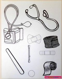 Doctor Bag Template Community Helpers Crafts Community Helpers Preschool Community Helpers