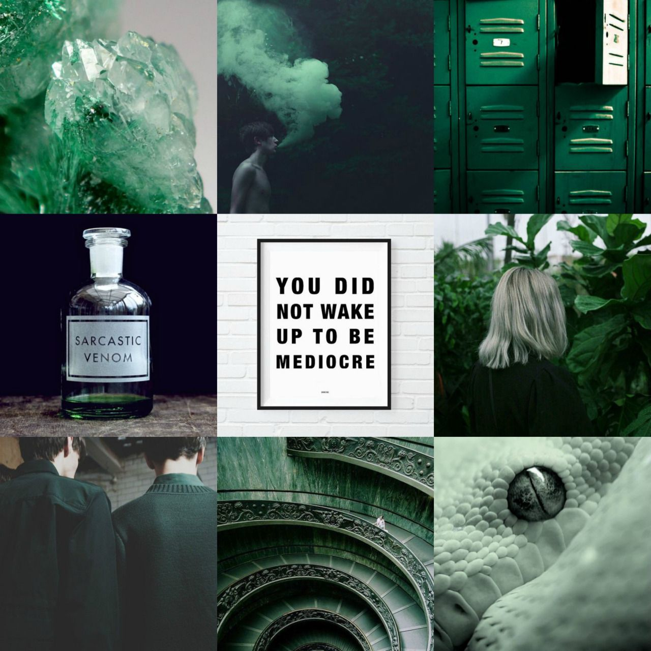 Slytherin Aesthetic Moodboard Tumblr With Images Slytherin