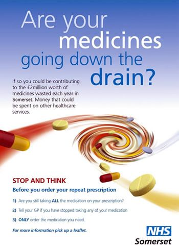 Medicine waste poster | Campaigns in NHS | Pinterest | Diff'rent ...