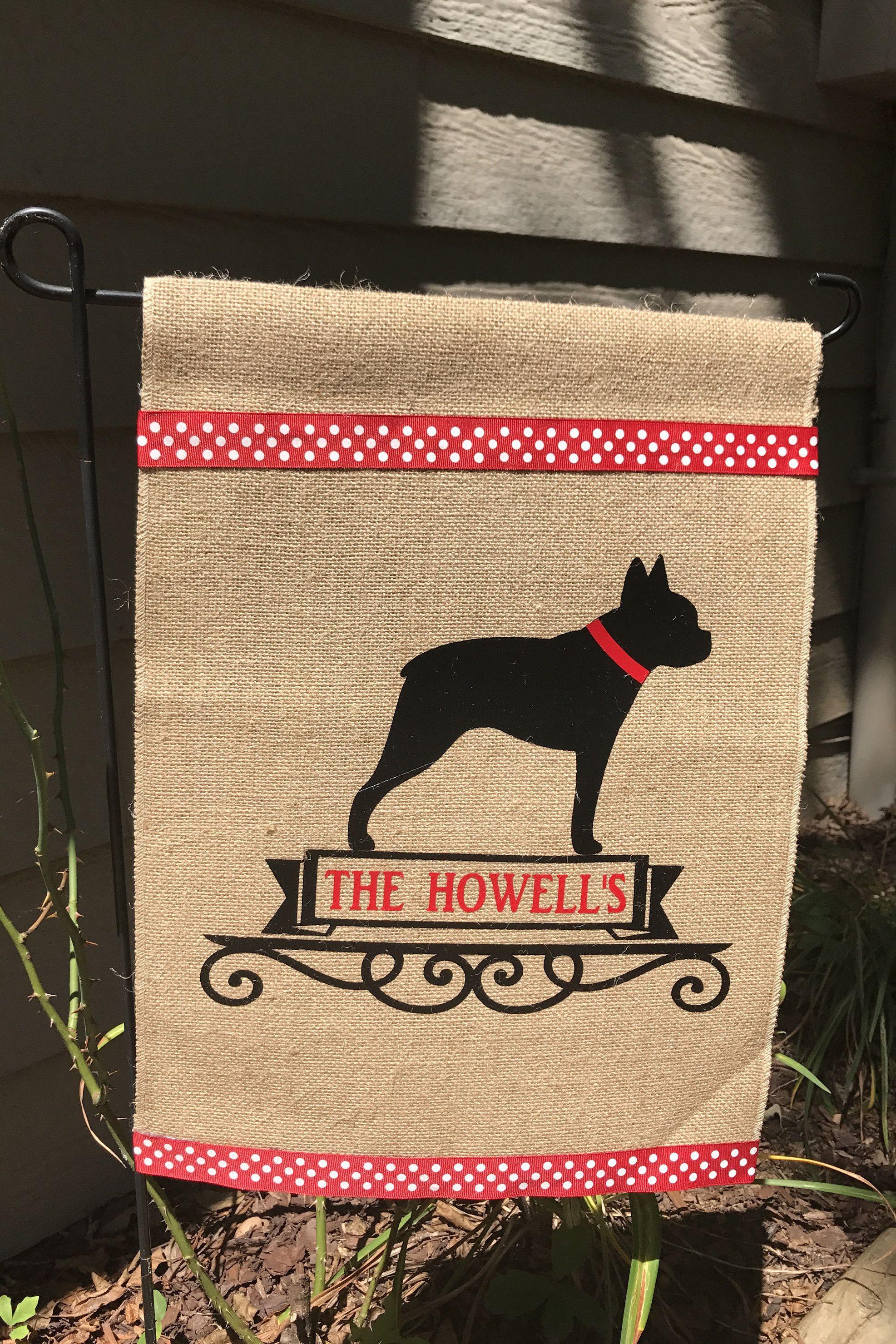 Boston Terrier/Boston Terrier Garden Flag/Dog