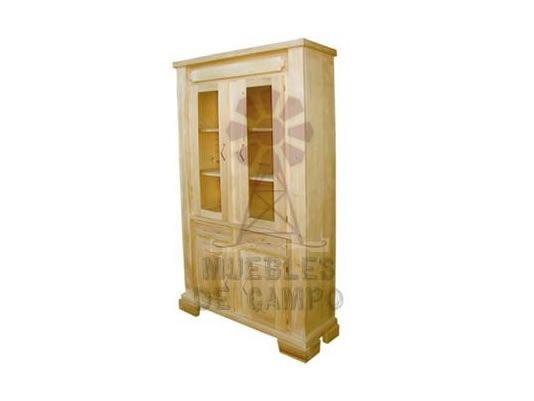 Muebles de campo, Cristalero | El Tigre Fábrica, muebles de pino ...
