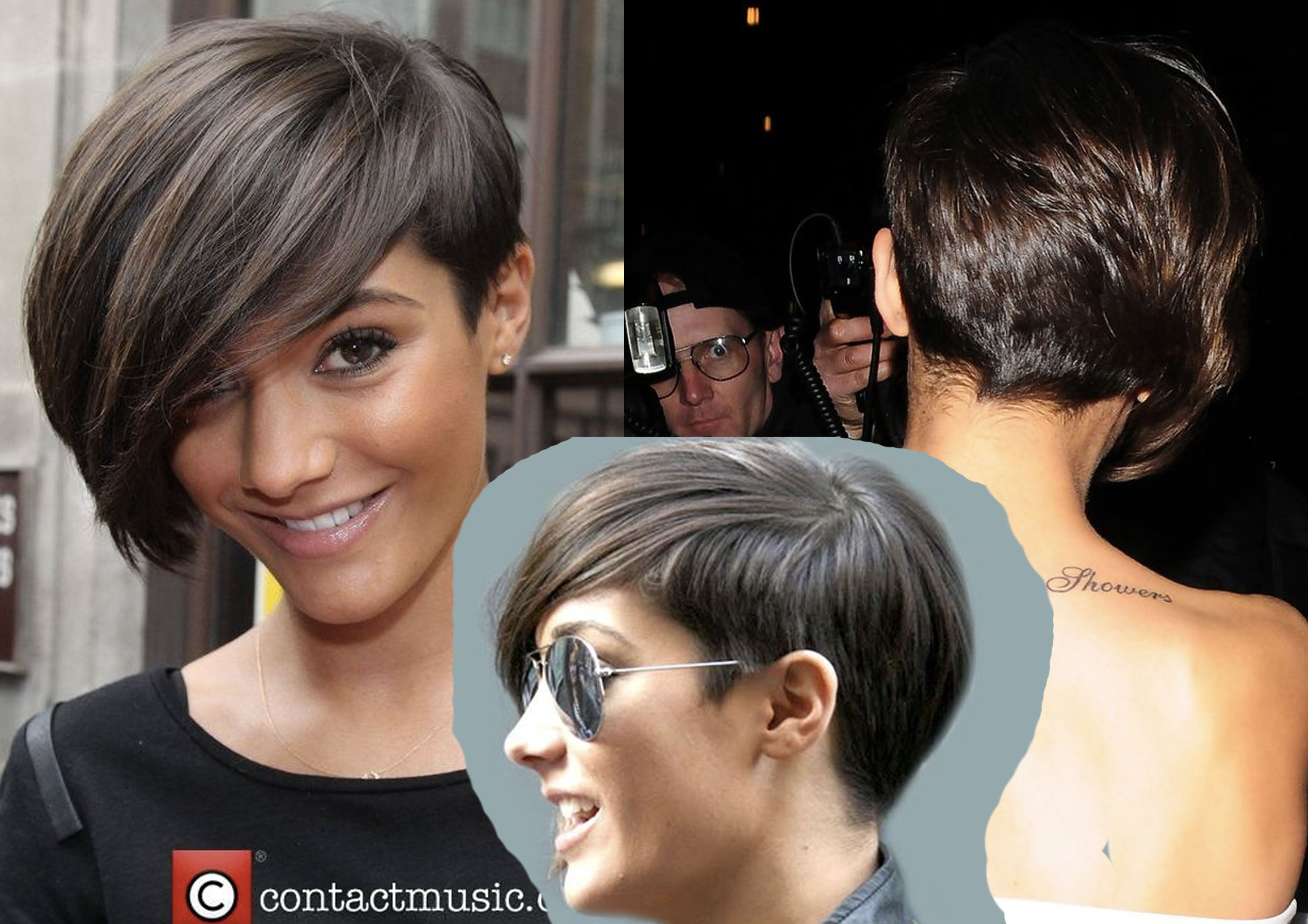 Coupe Asymtrique Frankie Sandford Inspiration Style In 2018
