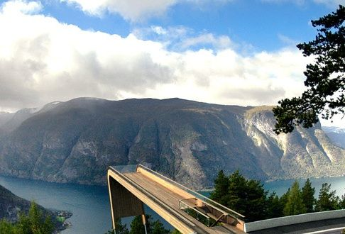 Aurland Lookout Norway