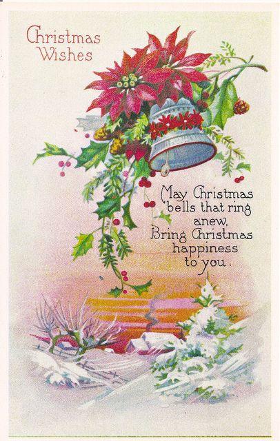 ~Kerstklokken~Postkaart...................lb xxx