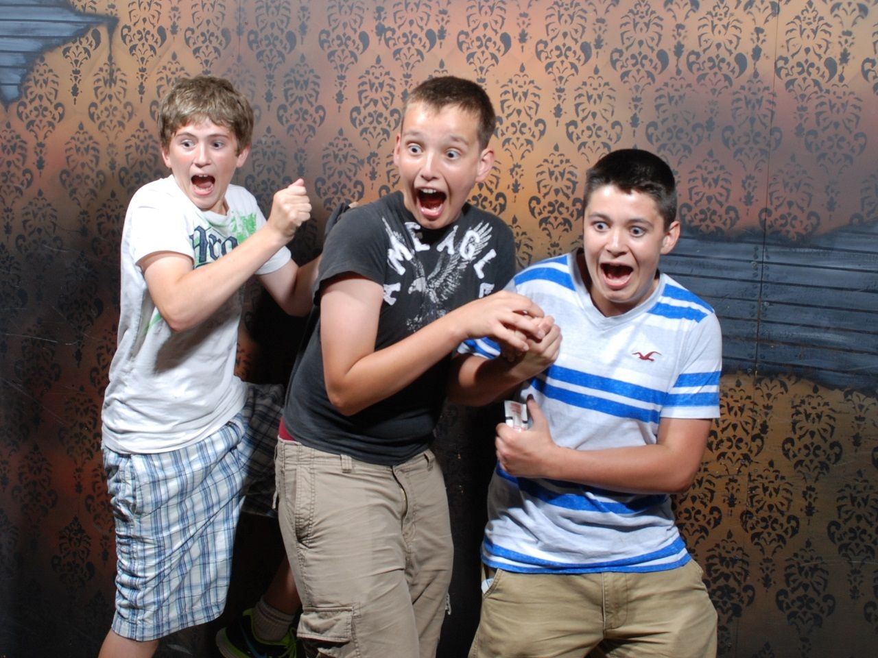 50 hilariously ridiculous haunted house reactions - The Top 10 Fear Pics From Nightmares Fear Factory In Niagara Falls Click The Pic Scariest Haunted Househaunted