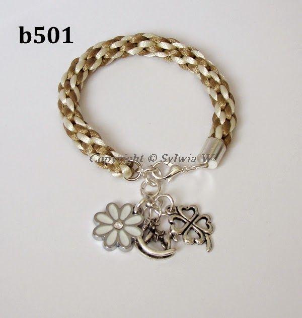 flov design: bransoletki kumihimo /  bracelet in kumihimo style...