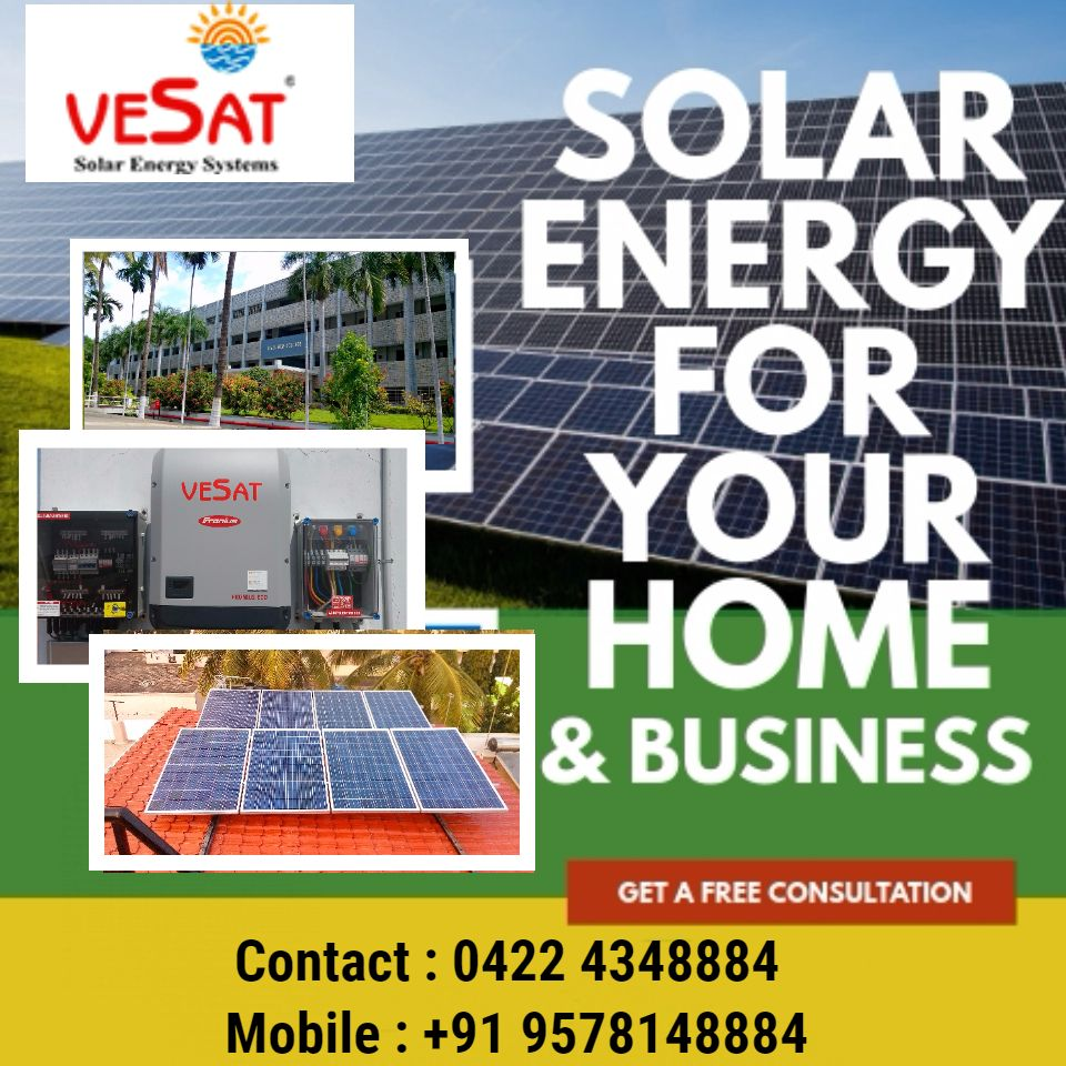 Vesat Renewables Private Limited Solar Companies Solar Thermal Energy
