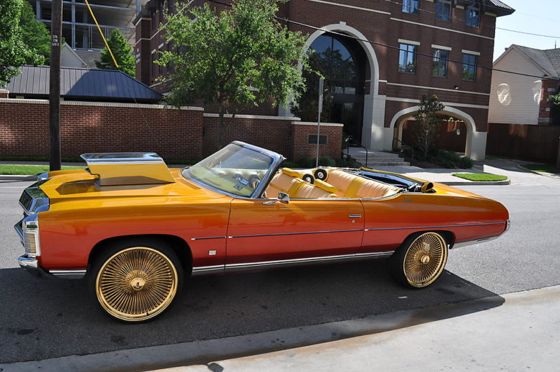 Old School Cars On 24 Inch Rims