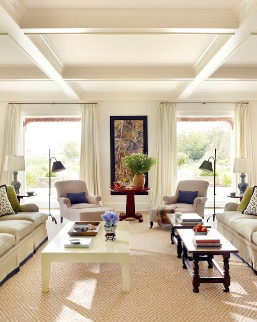 Receiving Room Interior Design: Light And Neutral With Texture And Colorful Accents