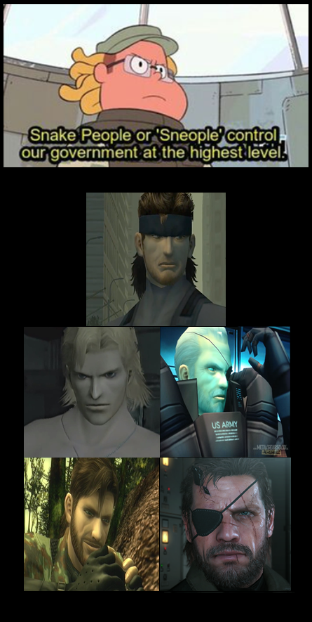 I Can T Be The Only Person Who Thought Of This Metal Gear Games Metal Gear Solid Metal Gear Series