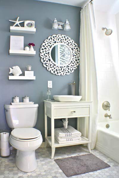 40 Stylish Small Bathroom Design Ideas Nautical Small
