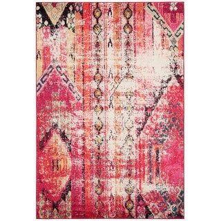 Photo of Safavieh Monaco Lumturije Distressed Boho Rug (2'2″ x 6′ Runner – Multi), Multicolor
