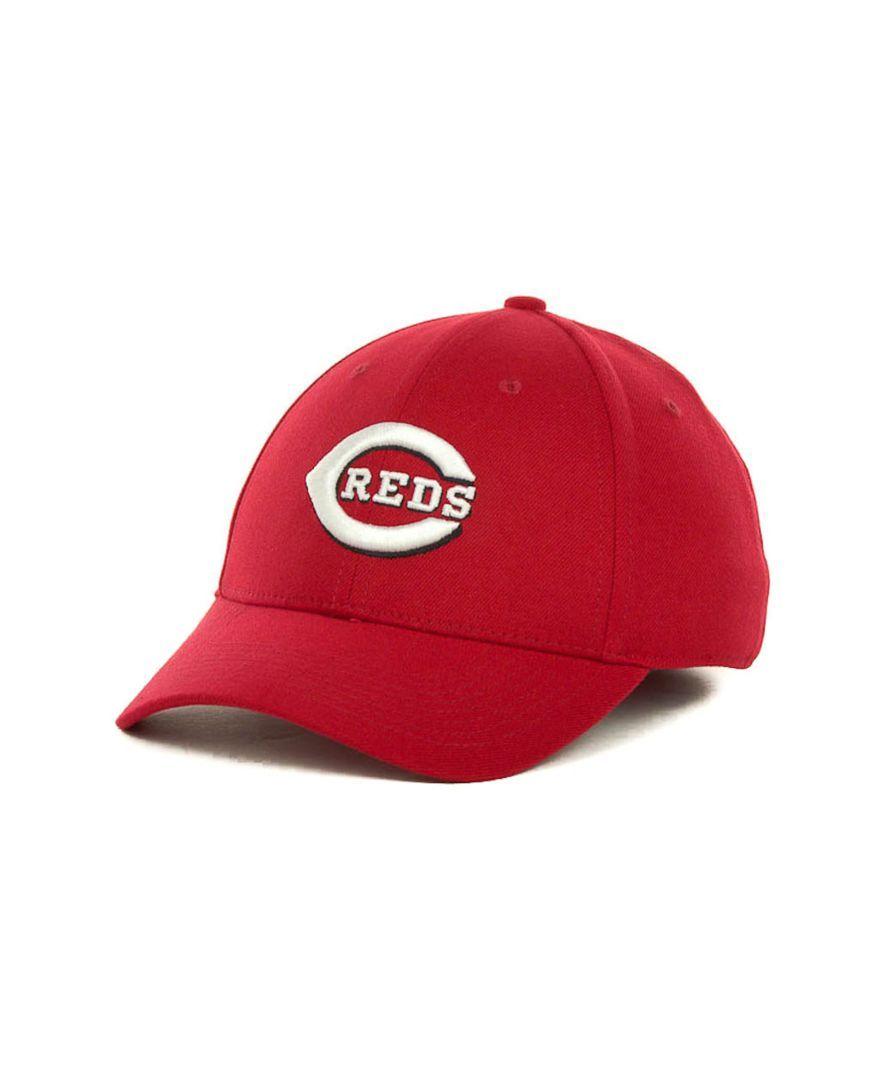 Nike Cincinnati Reds Dri-fit Swoosh Flex Cap
