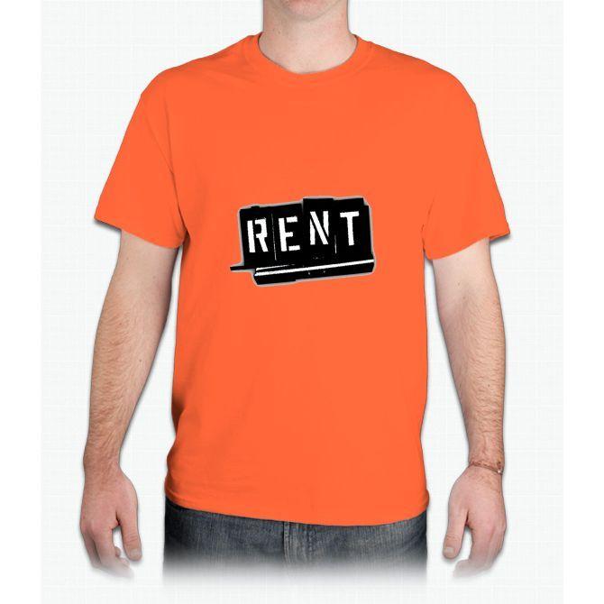Rent The Musical Logo - Mens T-Shirt
