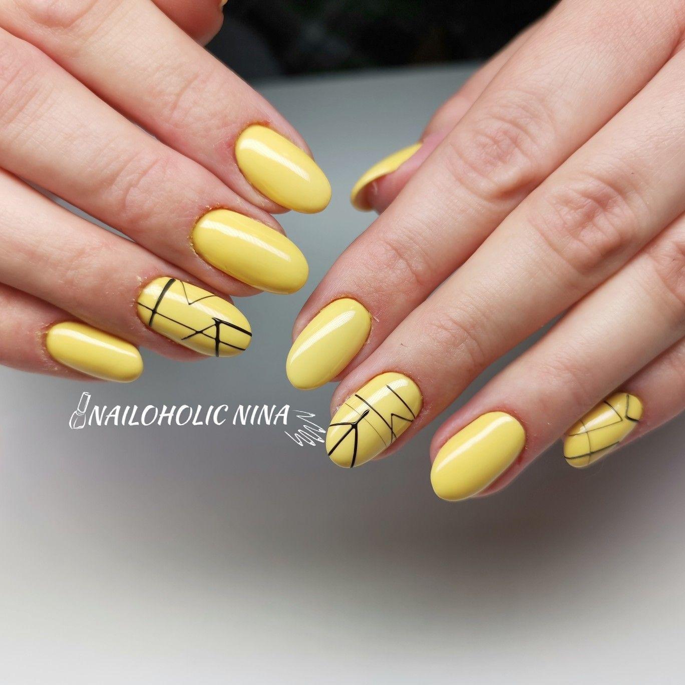Yellow Nails Nails Yellow Nails Nail Art Designs