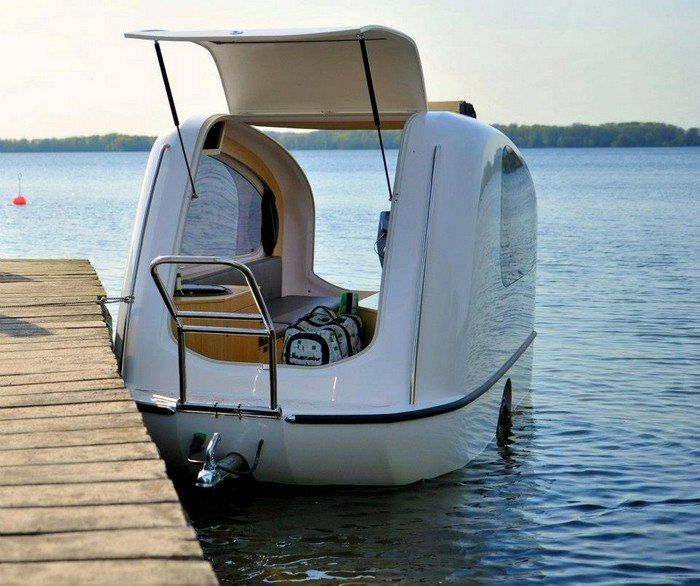 Sealander Amphibious Camping Trailer: Organizing Two Different Outdoor Activities Sure Is