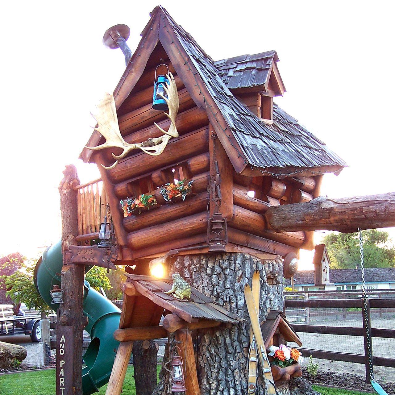 Daniel Wood Land Playhouses