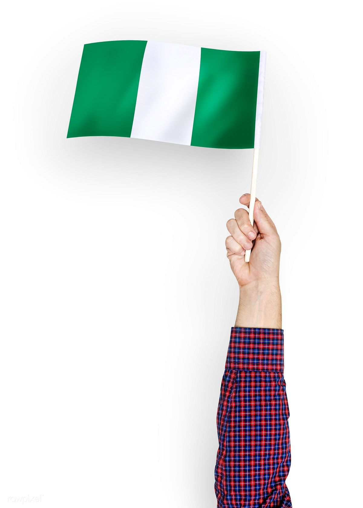 Download Premium Psd Of Person Waving The Flag Of Federal Republic Of Flag Flags Of The World Republic