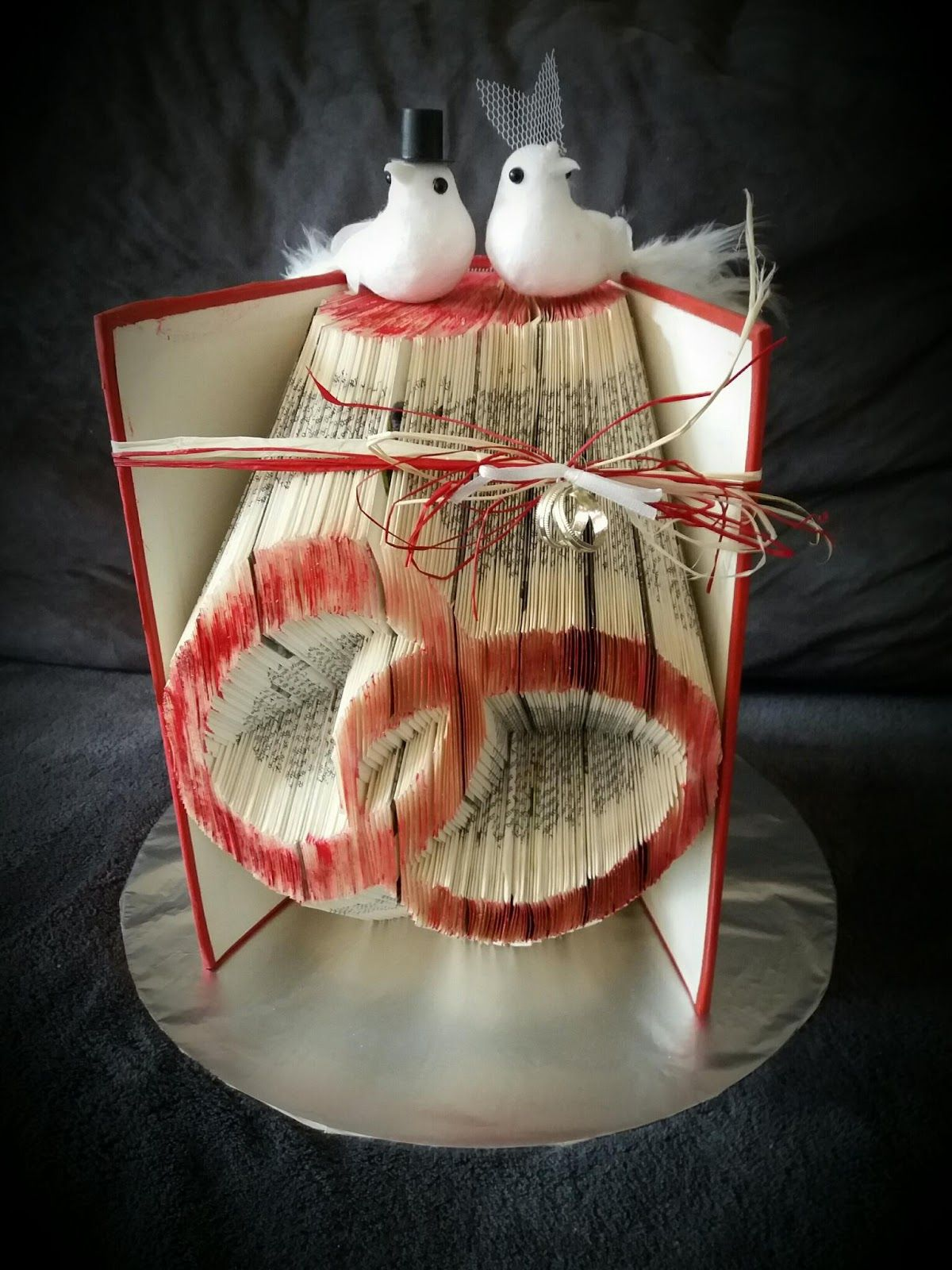Ein Orimoto als Hochzeit Geschenk Material: Buch Vorlage: Orimoto ...