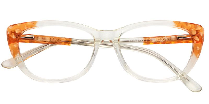 f88c02d852f Prescription Eyeglasses Suzanne Cat Eye Crystal Glasses 0339-02 ...