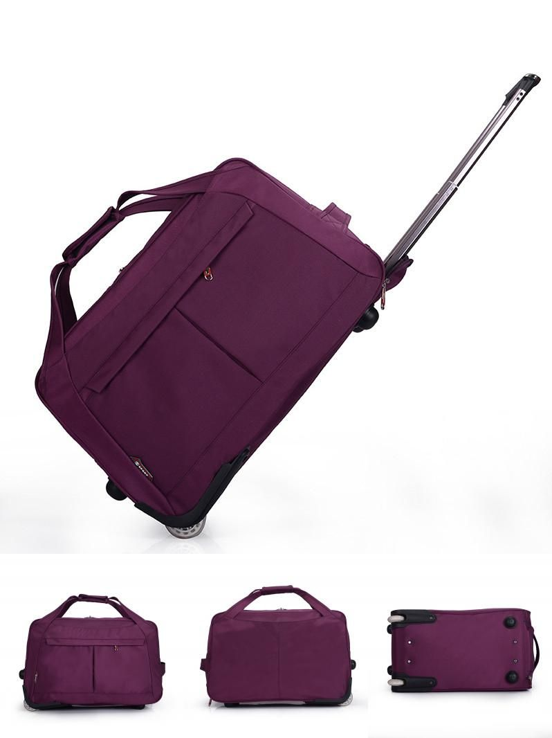bb9e80916eedb  Visit to Buy  Wheel Luggage Metal Trolley Bags Women s Travel Bag Hand  Trolley Bag