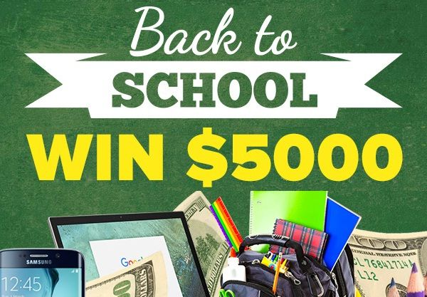 Extra Back to School Inspire Success Sweepstakes is goiving you a chance to win a $5,000.