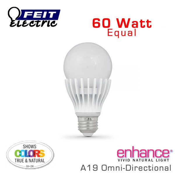 High Cri 60 Watt Equal Led A19 Bulb Bpagom800 927 Led Led Light Bulbs Bulb Watt