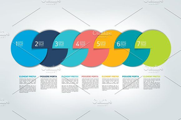 Infographic Timeline Report Graphics Infographic Timeline Report