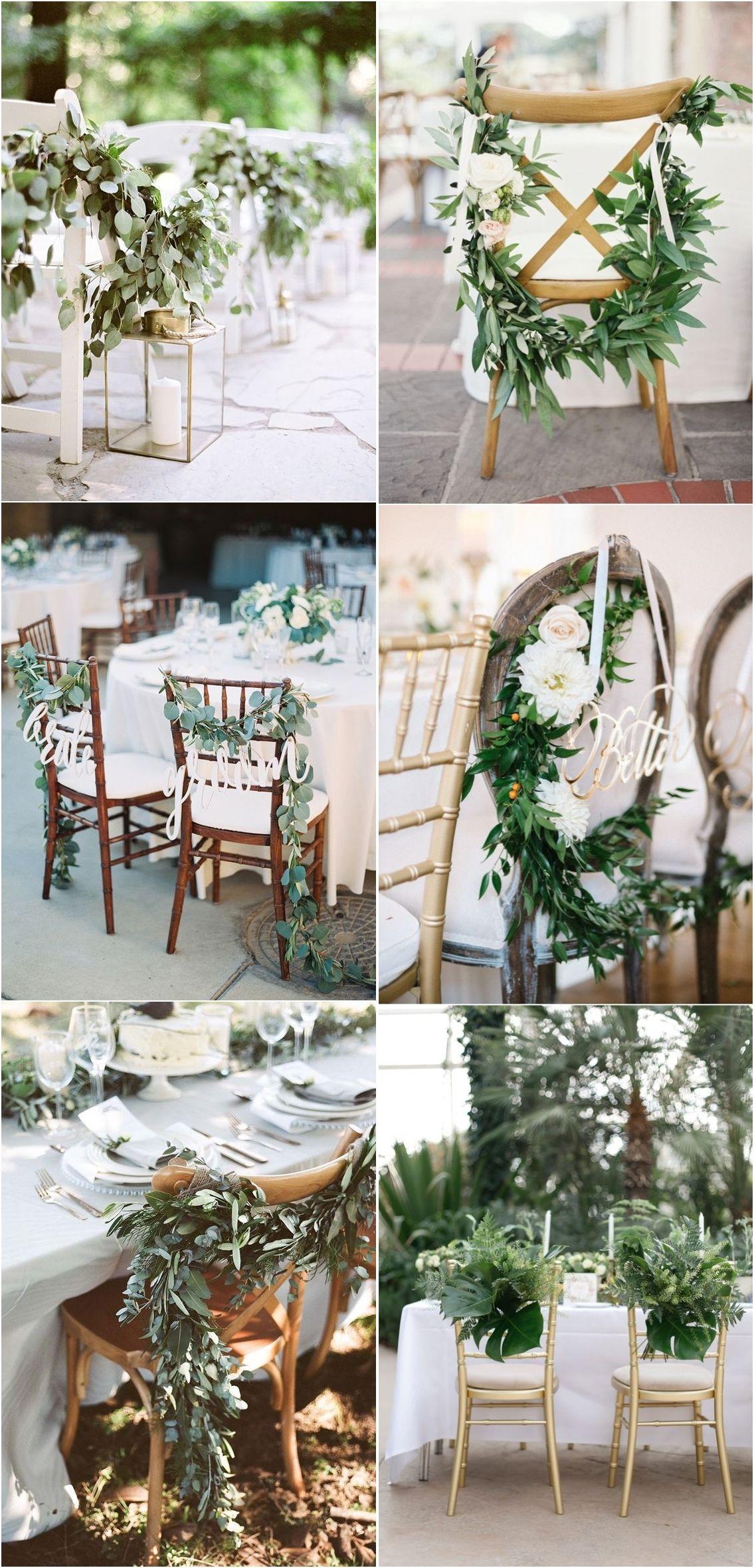 Decor ideas for wedding   Wedding Trends  Greenery Wedding Decor Ideas  Wedding
