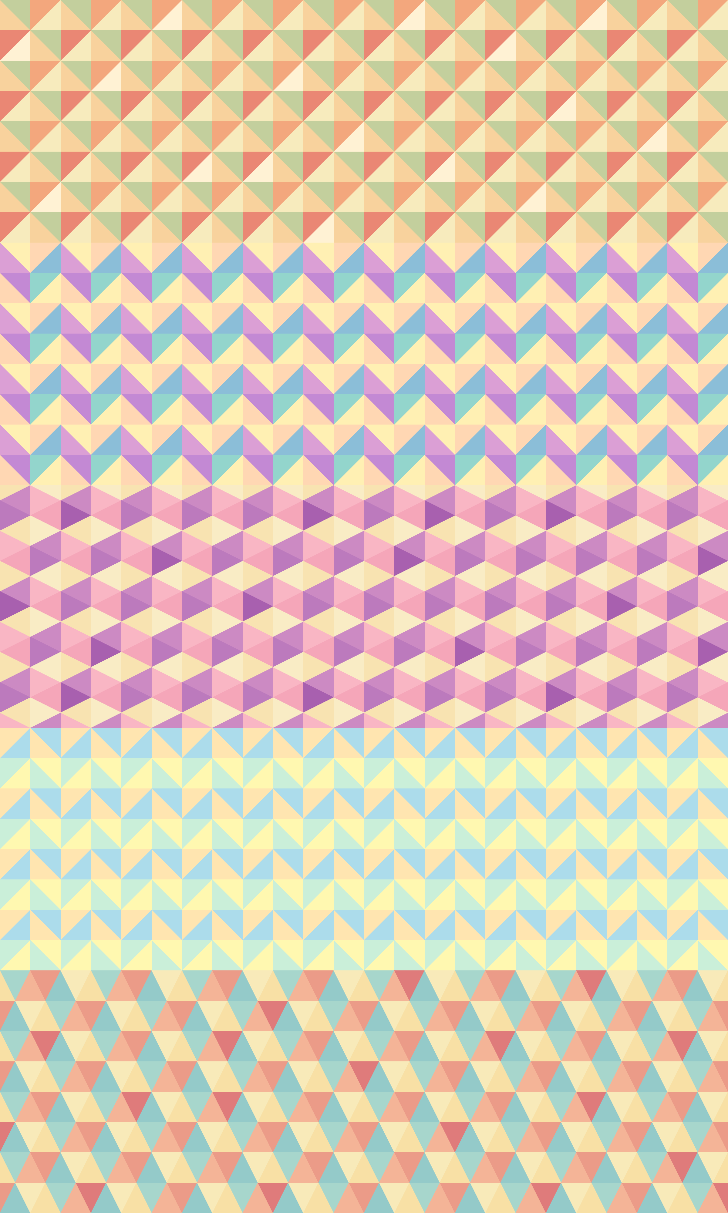 These polygon backgrounds are great for posters, flyers, wallpapers and more. In the PSD file each color  is on a separate...