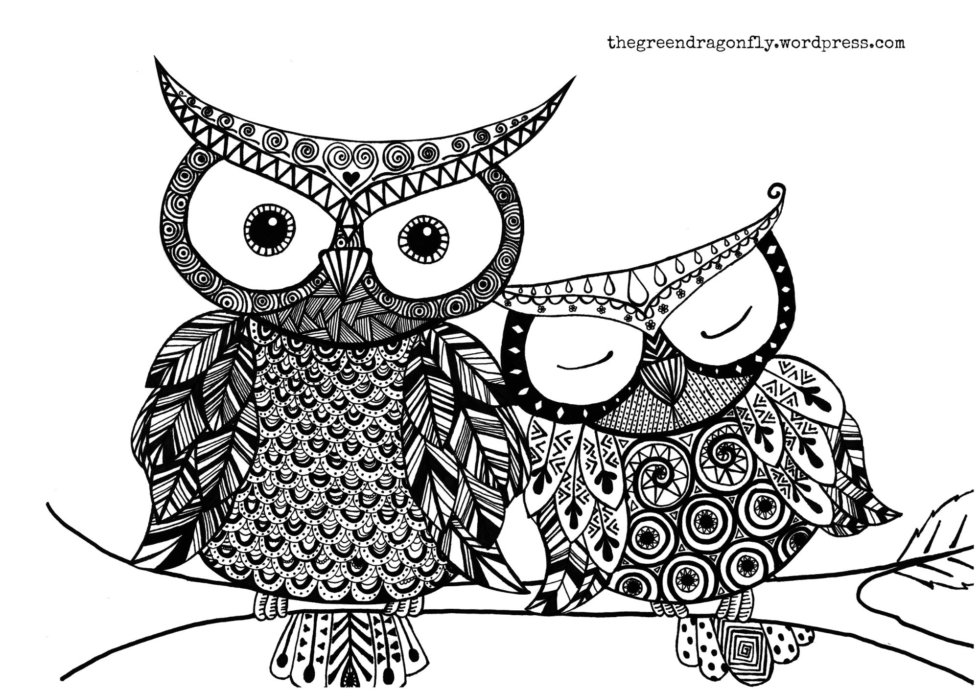 Owl coloring pages free - Explore Owl Coloring Pages And More