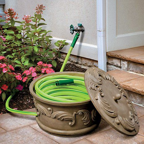 Improvements Feathered Scroll Hose Bowl Gardening Garden